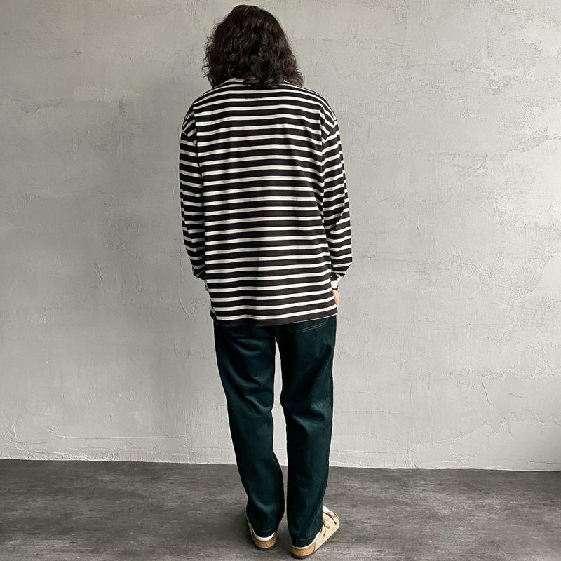 UNIVERSAL OVERALL [ユニバーサルオーバーオール] 別注 シェフパンツ [U2131601IN-JF] GREEN&&モデル身長:173cm 着用サイズ:M&&