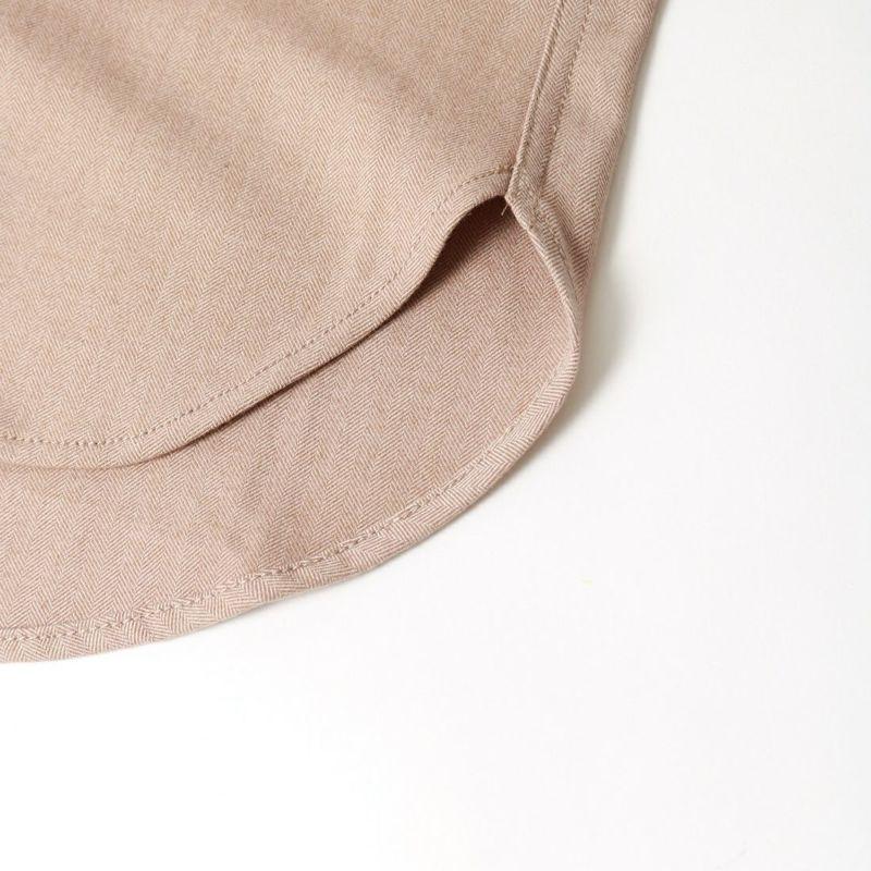 UNIVERSAL OVERALL [ユニバーサルオーバーオール] 別注 CPOビッグシャツ [U2132200IN-JF] BEIGE
