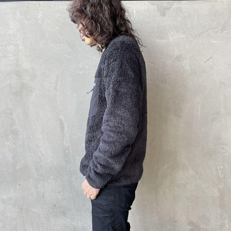 patagonia [パタゴニア] メンズ ロス ガトス クルー [25895] BLK&&モデル身長:173cm 着用サイズ:M&&