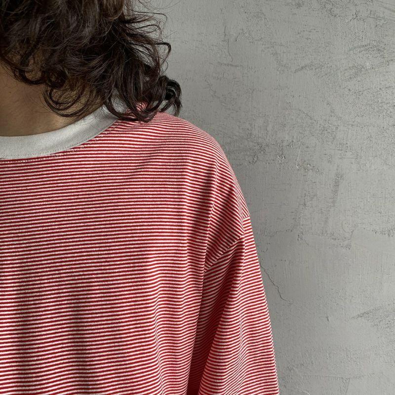PAY DAY [ペイデイ] 別注 ビッグリンガーボーダーTシャツ [PD-IN-CS008-JF] RED BDR
