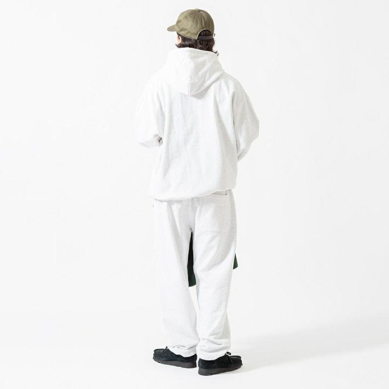 Jeans Factory Clothes [ジーンズファクトリークローズ] ヘビーウェイトスウェットパンツ [2123-427IN] ASH &&モデル身長:175cm 着用サイズ:L&&