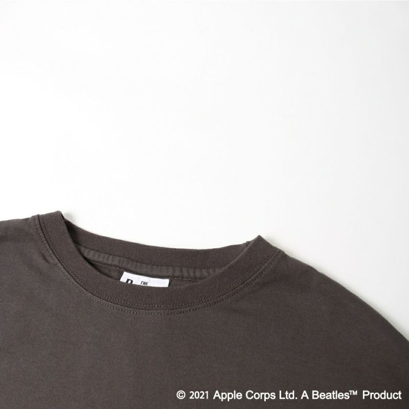 THE BEATLES [ザ・ビートルズ] BT×バックプリント ロングスリーブTシャツ [1715001-T] 02 CHA