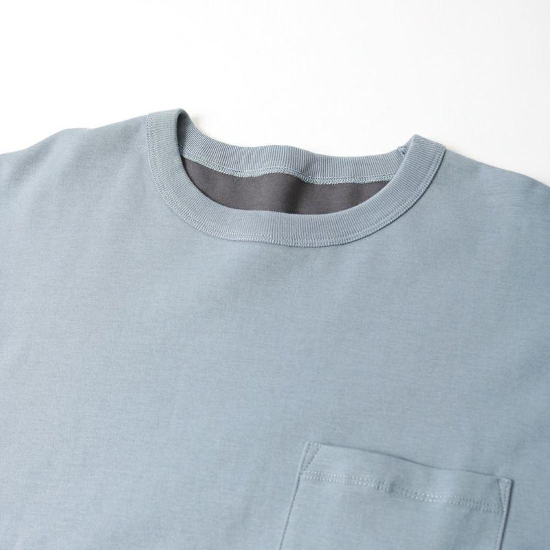 NOIR FABRIK [ヌワールファブリック] コンパクトボンディングリバーシブルTシャツ [AK211207] S.BLU/CHR