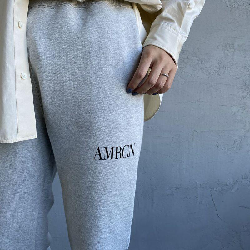 Americana × JEANS FACTORY [アメリカーナ × ジーンズファクトリー] 別注 AMRCN スウェットパンツ [ASO-493-1-JF] TOP GRY