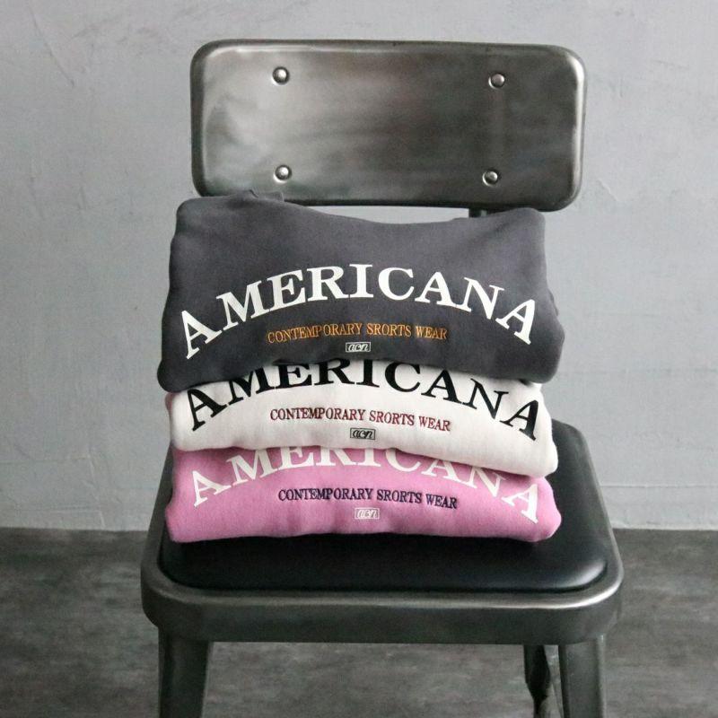 Americana × JEANS FACTORY [アメリカーナ × ジーンズファクトリー] 別注 アーチロゴ 2WAYスウェット
