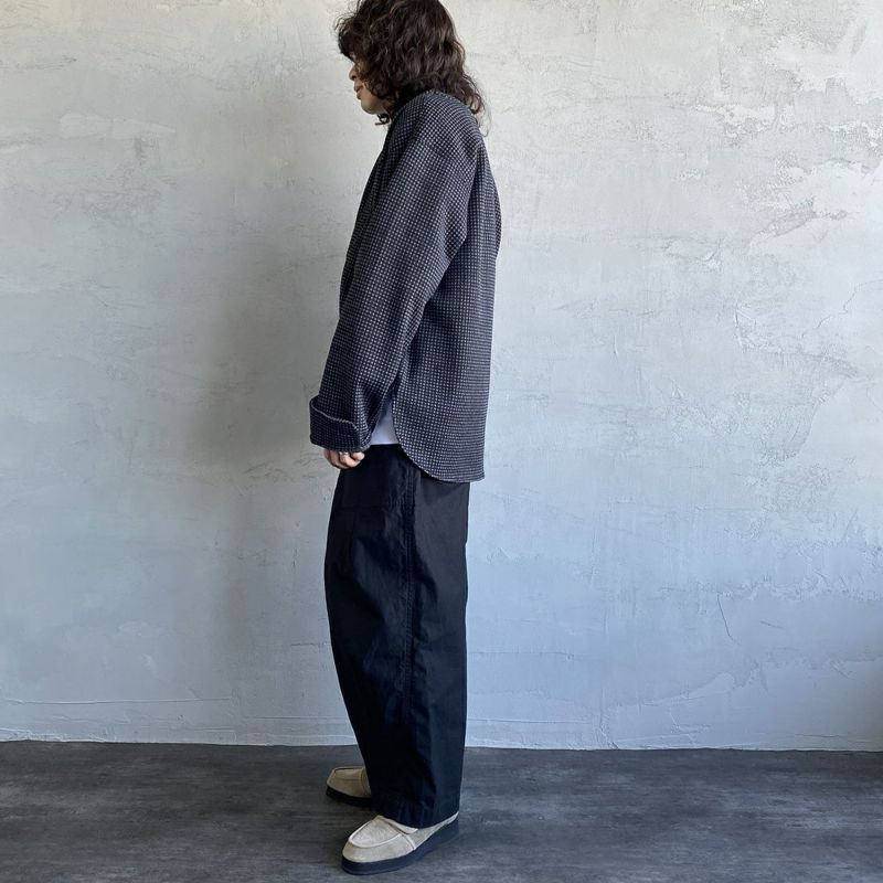 South2West8 [サウスツーウエストエイト] SCOUTING SHIRT [JO830] B CHARCOAL&&モデル身長:173cm 着用サイズ:S&&