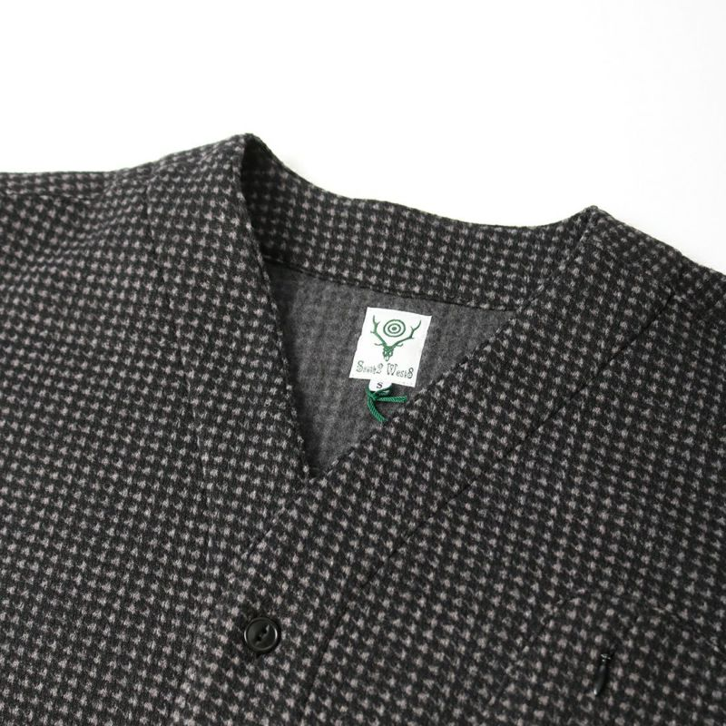South2West8 [サウスツーウエストエイト] SCOUTING SHIRT [JO830] B CHARCOAL