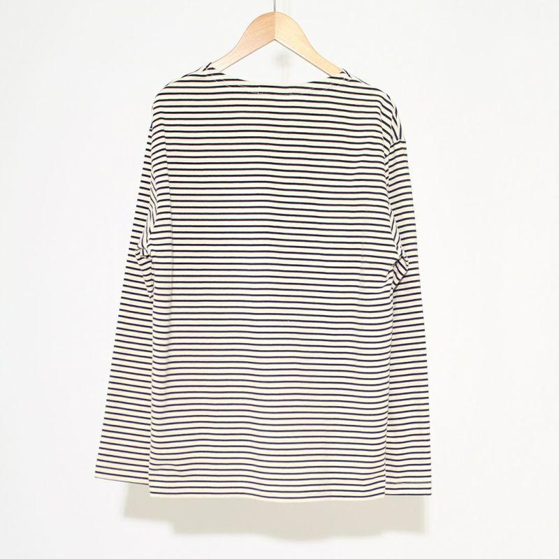 FIDELITY [フィデリティ] FD ボーダーTシャツ [TK-1775000] 92 NAT/NVY