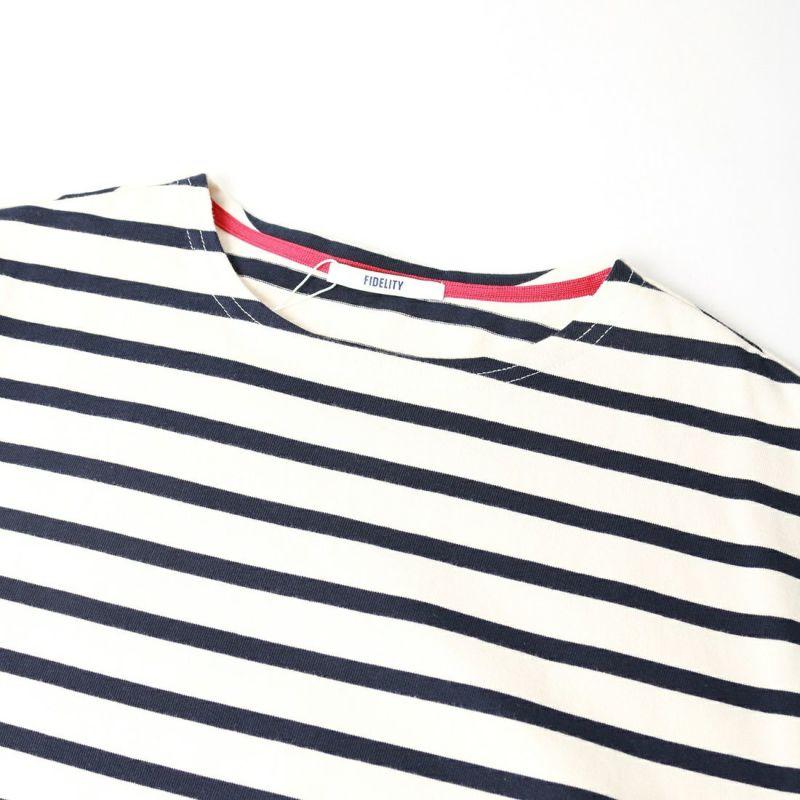FIDELITY [フィデリティ] FD クレイジーバスクボーダーシャツ [TK-1775001] 91 NAT/NVY