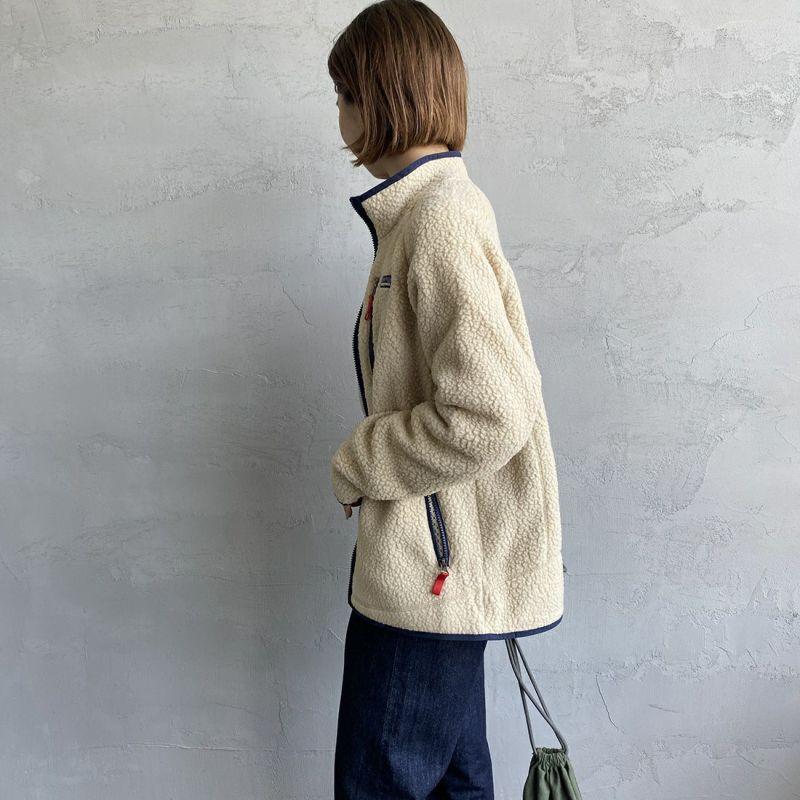 patagonia [パタゴニア] ボーイズ レトロ パイル ジャケット [65411] ELKH&&モデル身長:163cm 着用サイズ:KID-XXL&&