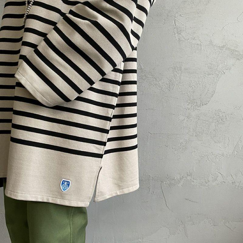 ORCIVAL [オーシバル] ボートネックボーダーTシャツ [6101C] PEB/BLA