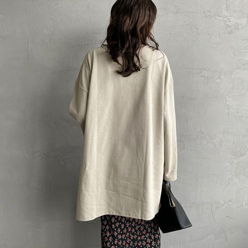 ORCIVAL [オーシバル] ボートネック チュニックバスクTシャツ [B335] TUFFEAU&&モデル身長:160cm 着用サイズ:1&&