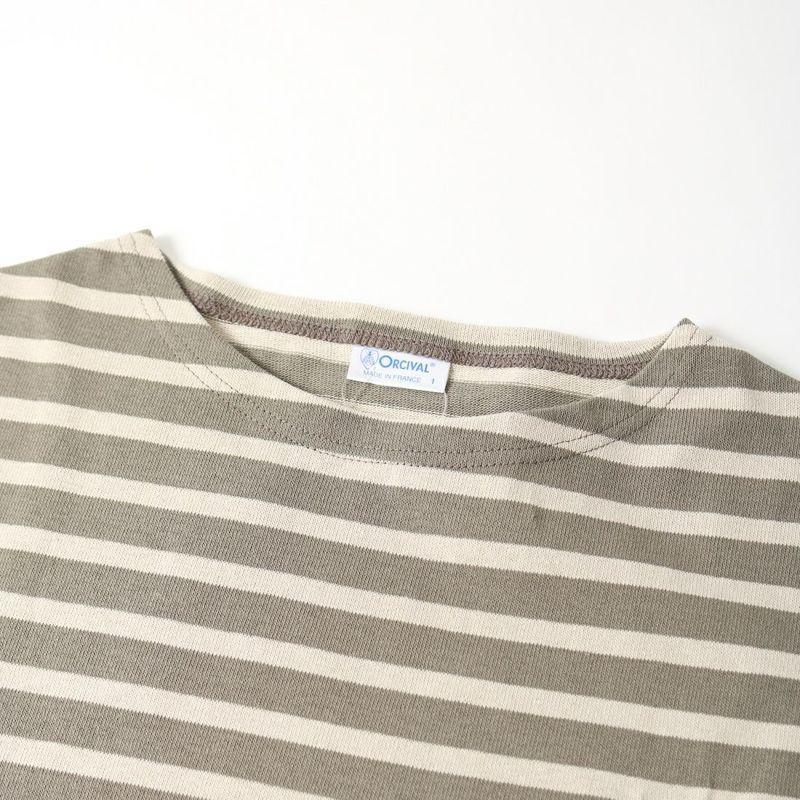 ORCIVAL [オーシバル] ボートネック チュニックバスクTシャツ [B335] KIM/TUF