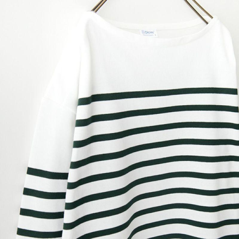 ORCIVAL [オーシバル] ビッグラッセルフレンチセーラーTシャツ [6101] COA/WHI