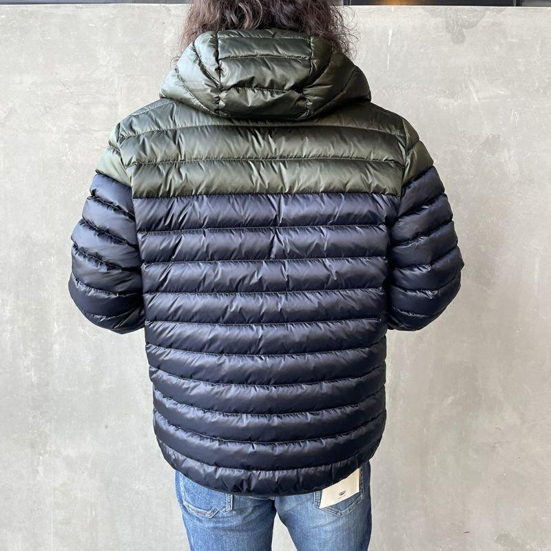 CAPE HORN [ケープホーン] FUERTE(フェルテ)ダウンジャケット [11502] 500 BLACK&&モデル身長:173cm 着用サイズ:48&&