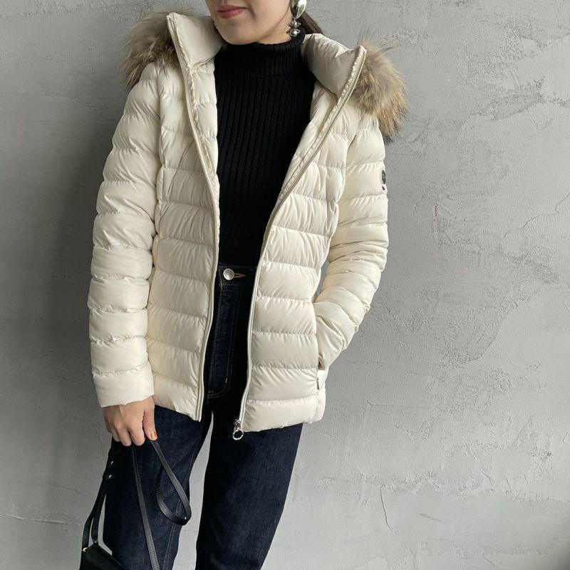 CAPE HORN [ケープホーン] SALTA MURMASKY(サルタ マーマスキー)ダウンジャケット [12576] 102 BETULL&&モデル身長:160cm 着用サイズ:42&&