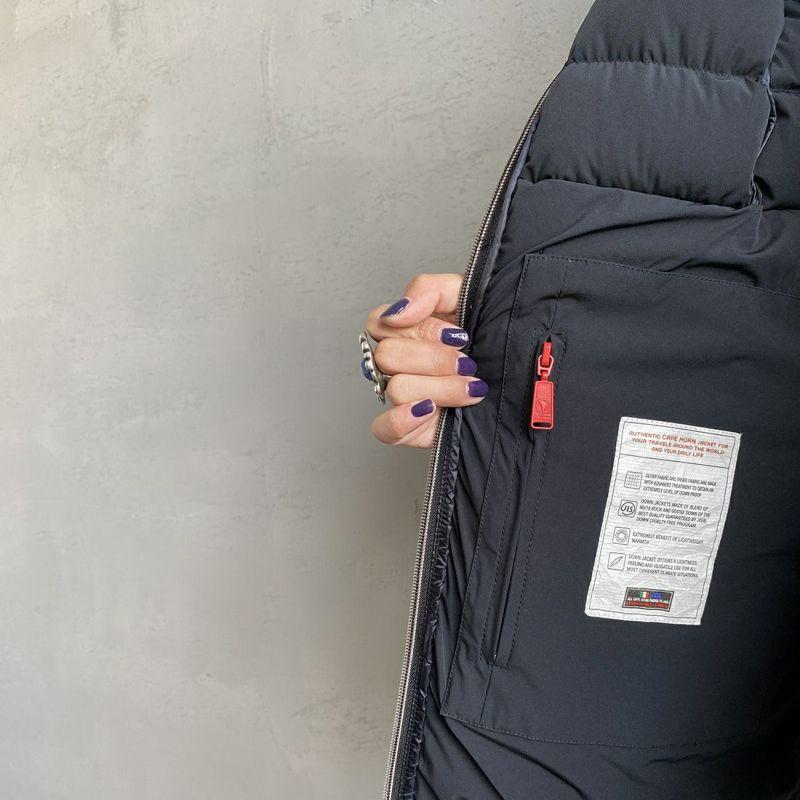 CAPE HORN [ケープホーン] SALTA MURMASKY(サルタ マーマスキー)ダウンジャケット [12576] 500 BLACK