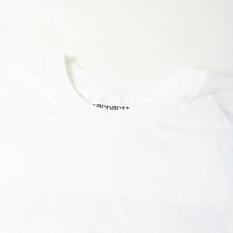 carhartt WIP [カーハートダブリューアイピー] ロングスリーブグリッドシーTシャツ [I029606] WHITE