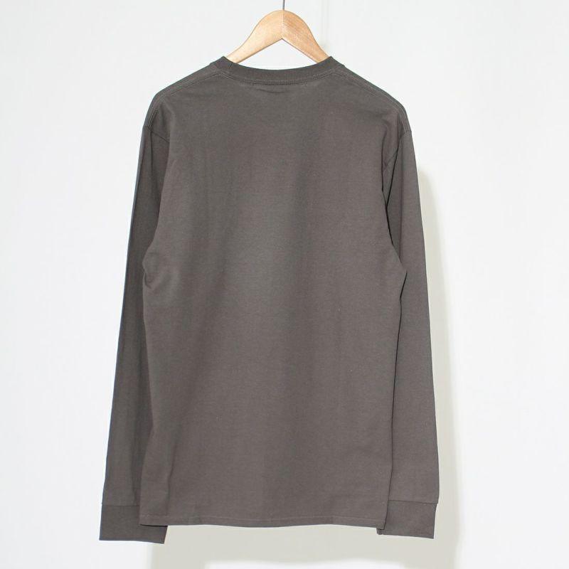 HUF [ハフ] QUAKEロゴ ロングスリーブTシャツ [TS01510] CHARCOAL