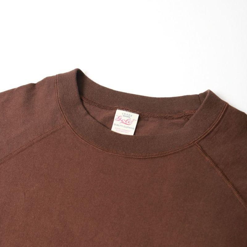 GOLD [ゴールド] ラグランロングスリーブTシャツ [GL68804] 138 BROWN