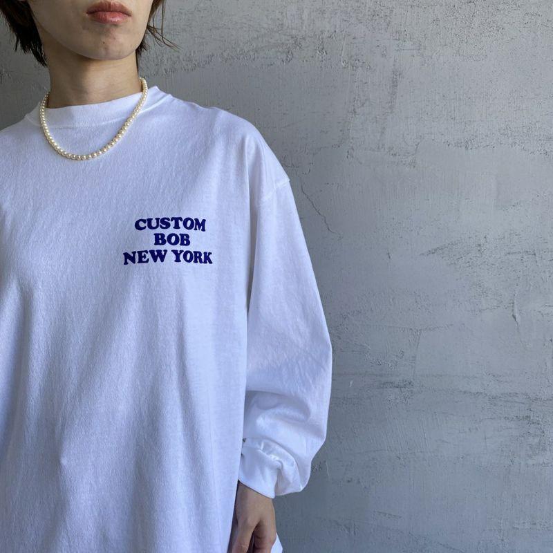 THE SHINZONE [ザ シンゾーン] CUSTOM BOB Tシャツ [21AMSCU19] 01 WHITE