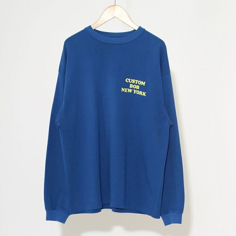 THE SHINZONE [ザ シンゾーン] CUSTOM BOB Tシャツ [21AMSCU19] 83 BLUE