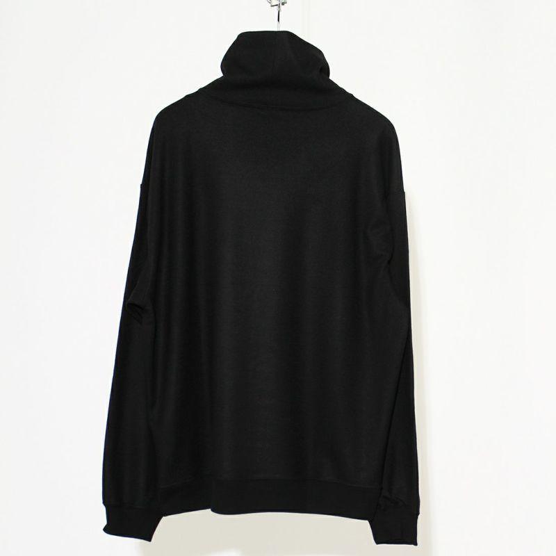 GOLD [ゴールド] ウールロングスリーブルーズネックTシャツ [GL68801] 119 BLACK