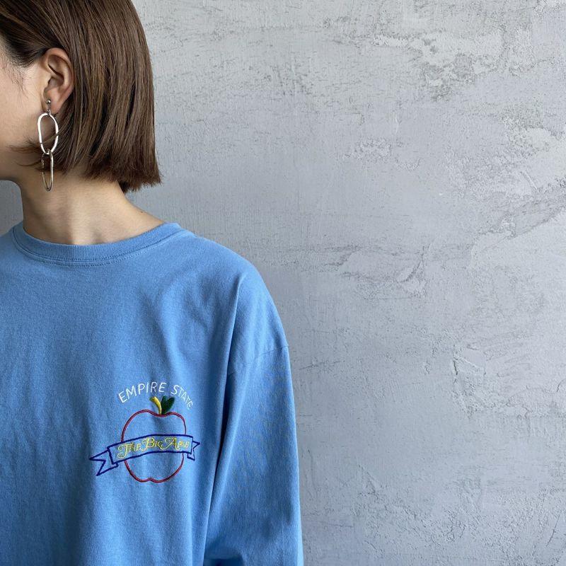 THE SHINZONE [ザ シンゾーン] EMPIRE STATE Tシャツ [21AMSCU20] 83 BLUE