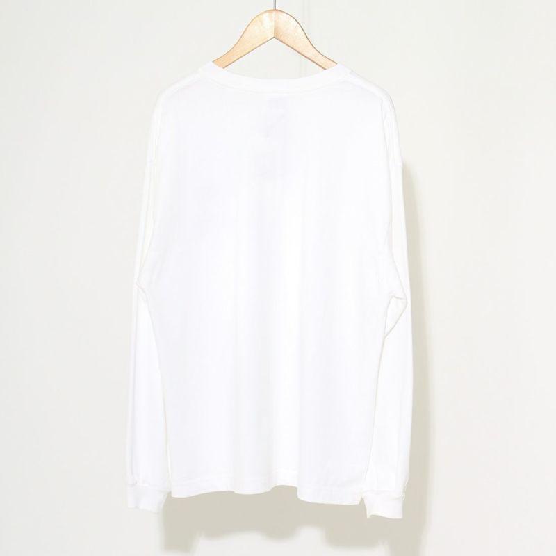 THE SHINZONE [ザ シンゾーン] EMPIRE STATE Tシャツ [21AMSCU20] 01 WHITE