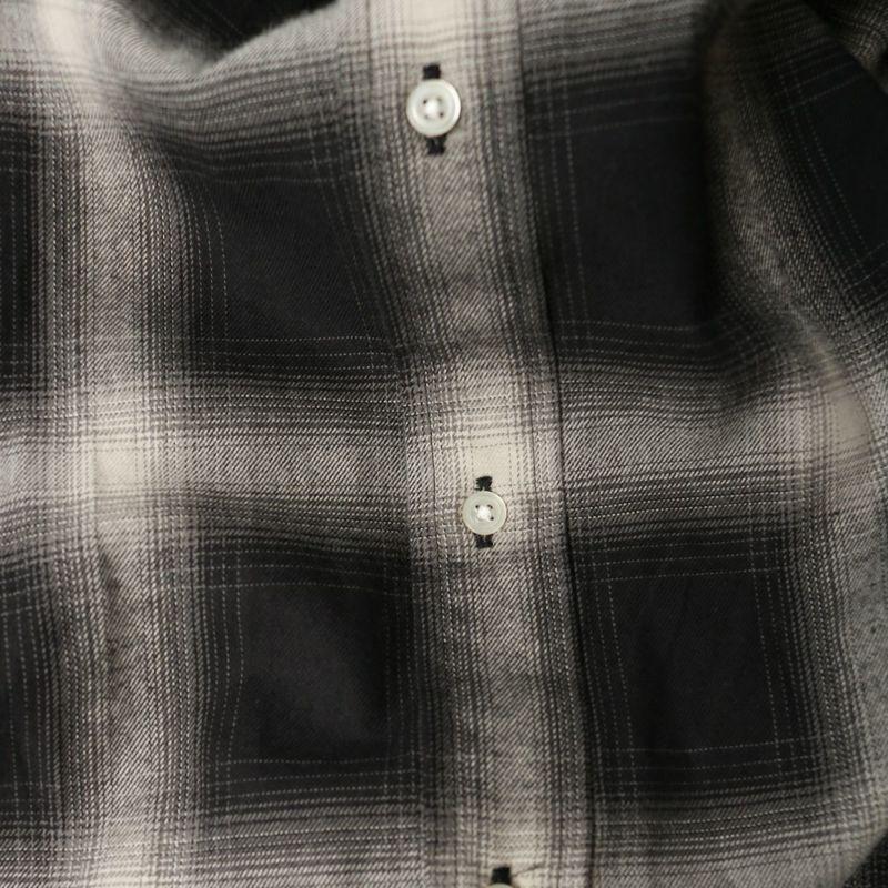 VALTA [ヴァルタ] 別注 ビックシャツ [VA21AW3029-JF] ONBRE CHEC