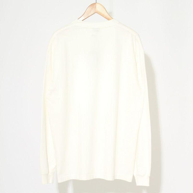SEDAN ALL-PURPOSE [セダン オールパーパス] オリジナルロゴロングスリーブTシャツ [SD21F-CT05] WHITE