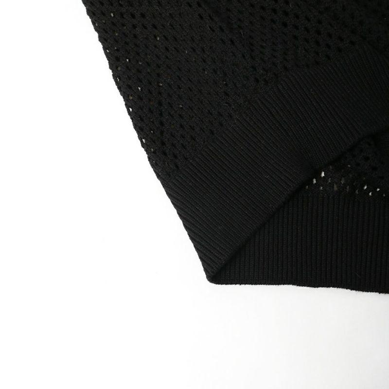 ALLUMER [アリュメール] メッシュニットプルオーバー [8148464] 700 BLACK