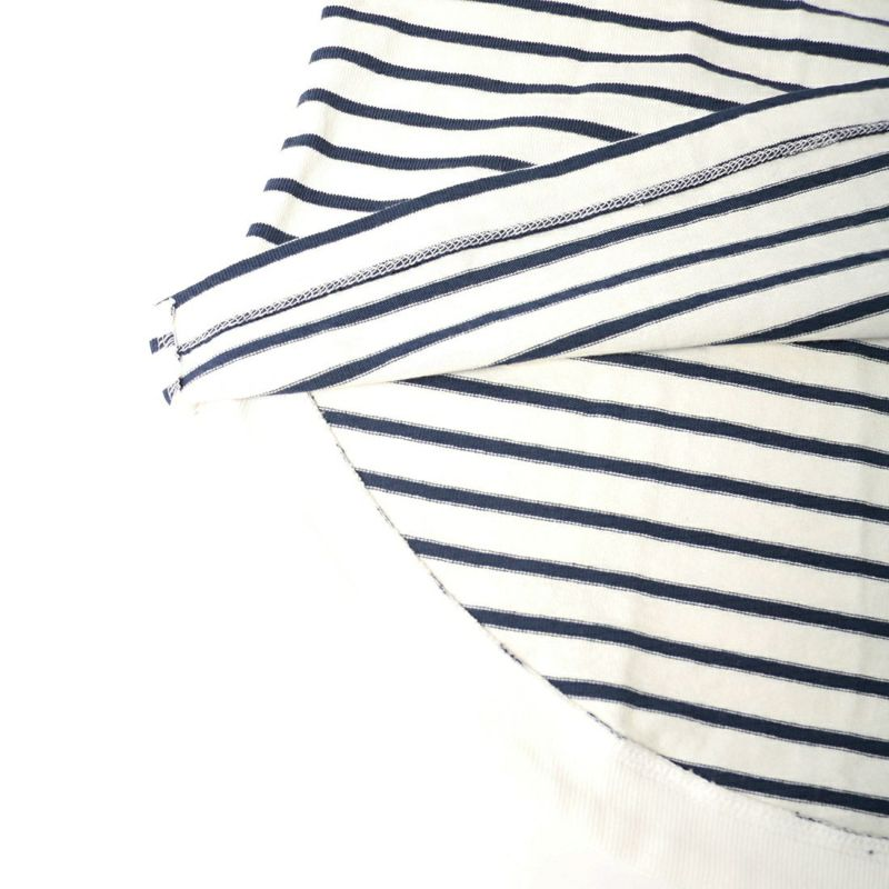 Jf Ready Made [ジェイエフレディメイド] ラウンドヘムボーダーTシャツ [2706136] ネイビー
