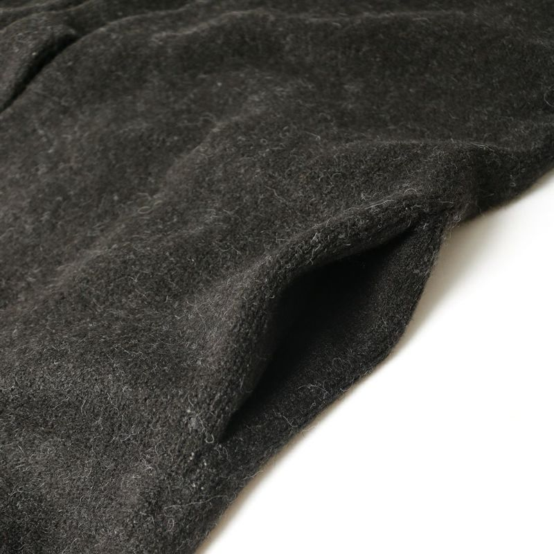 PENDLETON [ペンドルトン] ノーカラーミドルカーディガン [1575-6103] 49 BLACK