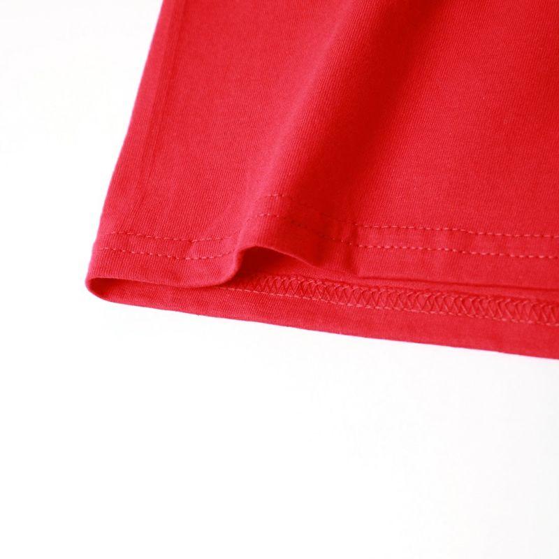 AiE [エーアイイー] プリントロングスリーブTシャツ KURT [JO637] RED