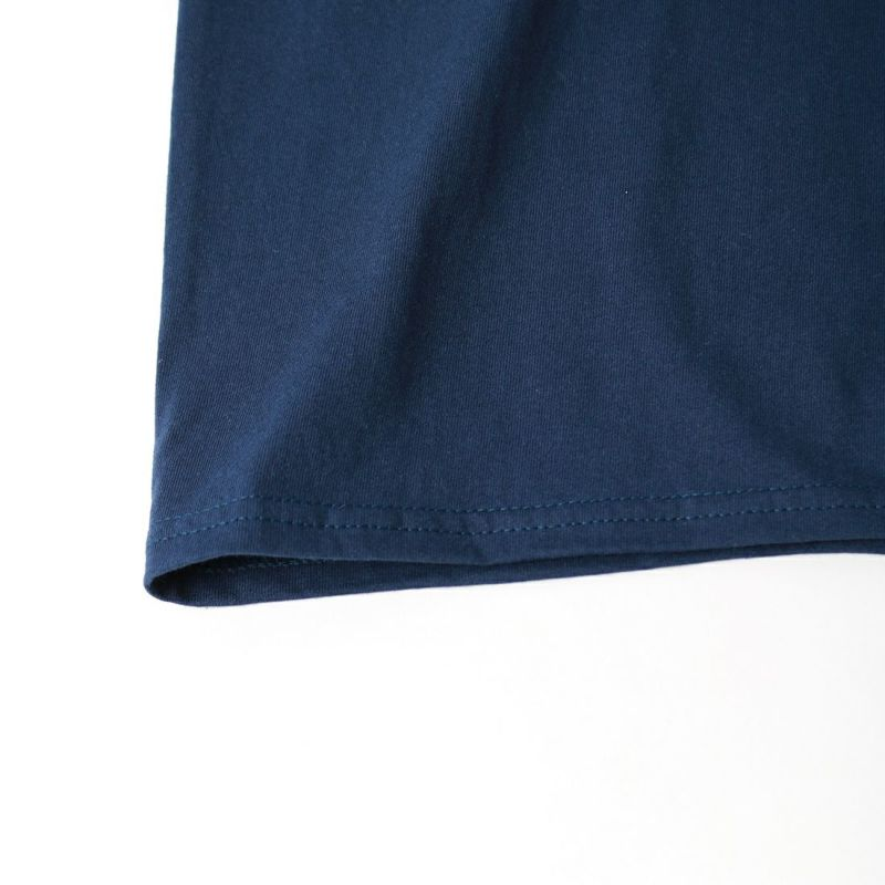 AiE [エーアイイー] プリントロングスリーブTシャツ DEF MAYBE [JO636] NAVY