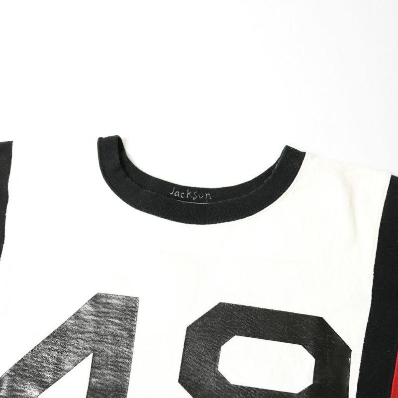 JACKSON MATISSE [ジャクソンマティス] フットボール ロングスリーブTシャツ [JM21AW022] WHITE