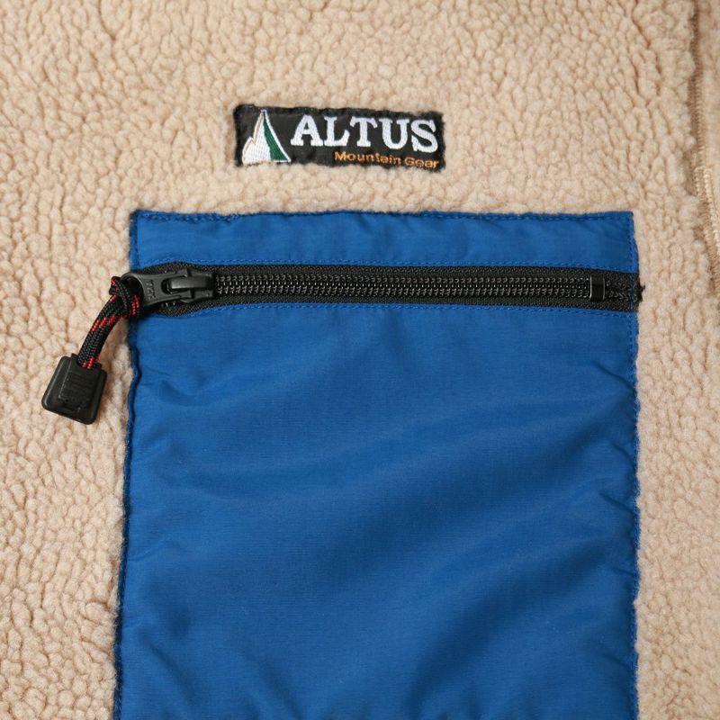 ALTUS Mountain Gear [アルタスマウンテンギア] 別注 リバーシブルボアジャケット [AT-21AW-IN-OR020] BEIGE