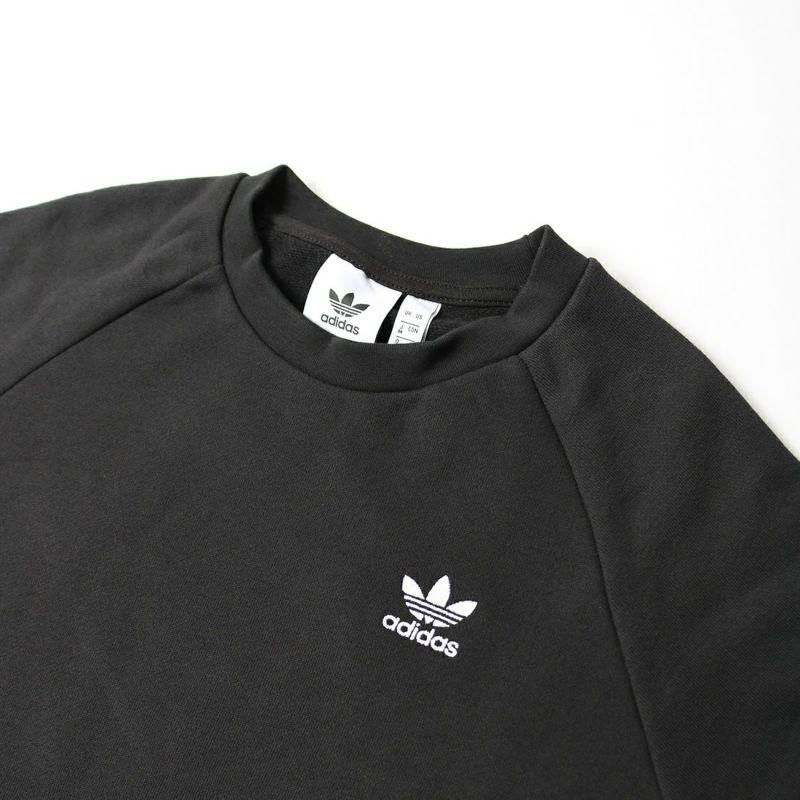 adidas Originals [アディダス オリジナルス] エッセンシャル クルーネックスウェット [DV1600] ブラック
