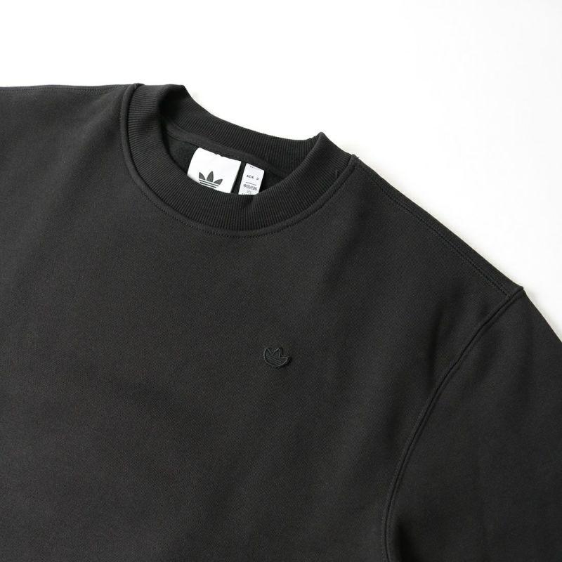 adidas Originals [アディダス オリジナルス] アディカラー トレフォイル クルーネックスウェット [H09179] ブラック