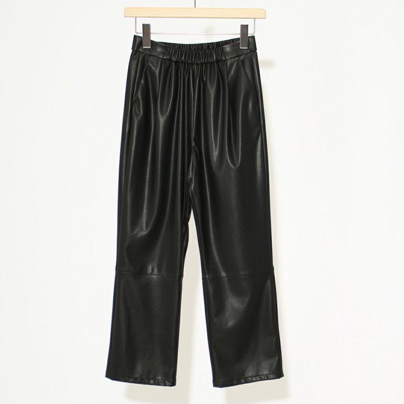 Jeans Factory Clothes [ジーンズファクトリークローズ] ブレスレザーイージーパンツ [213052] ブラック