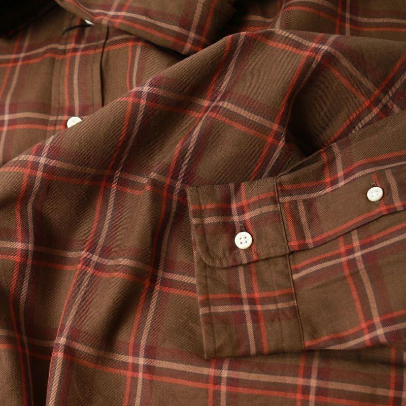 THE SHINZONE [ザ シンゾーン] チェックシャツ [21AMSBL06] 62 KHAKI