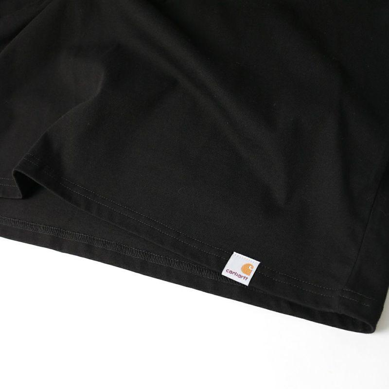 carhartt WIP [カーハートダブリューアイピー] ロングスリーブコーガンカルトレベルTシャツ [I029630] BLACK