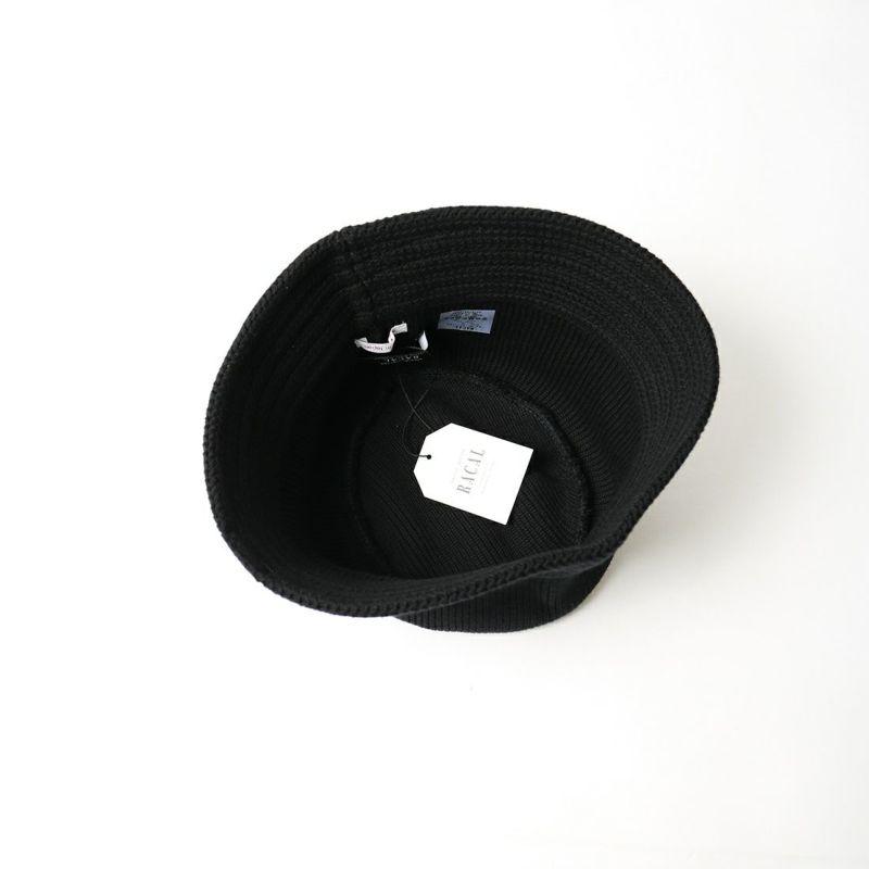 RACAL [ラカル] コットンニットバケットハット [RL-21-1169] BLACK