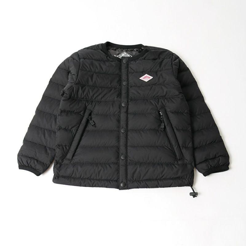 DANTON [ダントン] インナーダウンクルーネックジャケット [DT-A0047NNF] BLACK