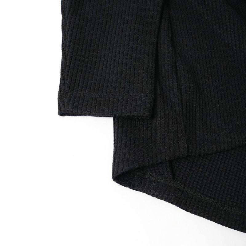 mizuiro ind [ミズイロインド] クルーネックカーディガン [3-219621] 99 BLACK