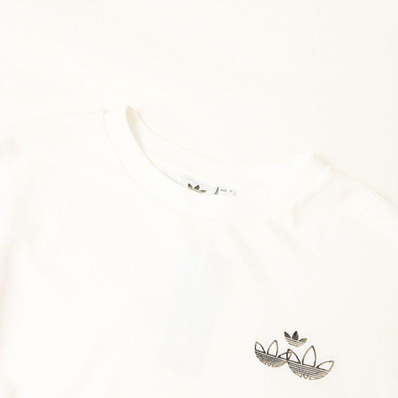 adidas Originals [アディダス オリジナルス] トリプル トレフォイル スウェット [H17943] ホワイト