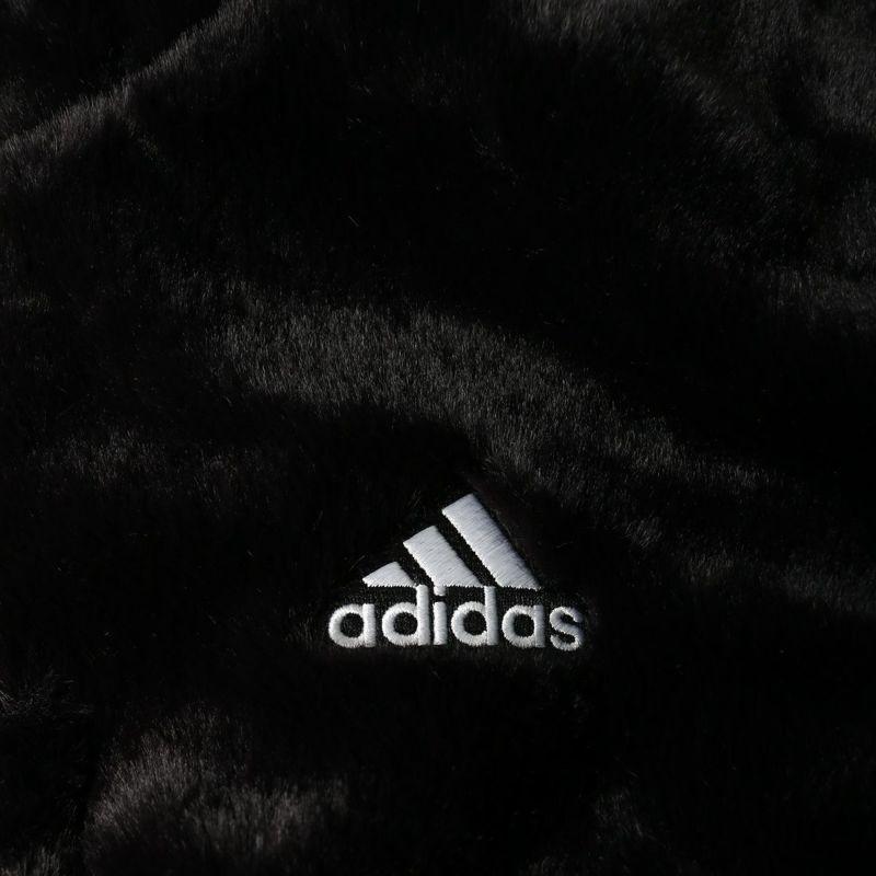 adidas [アディダス] W STYLE ファージャケット [H07395] ブラック/ホワイト