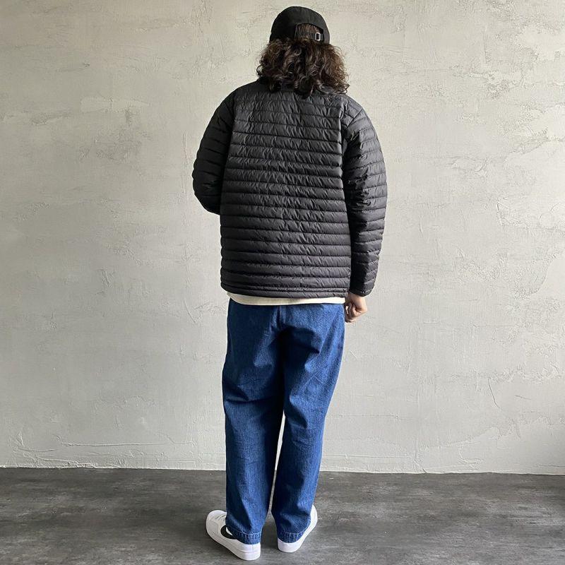 ORCIVAL [オーシバル] インナーダウン クルーネックジャケット [OR-A0086DPL] BLACK&&モデル身長:173cm 着用サイズ:4&&