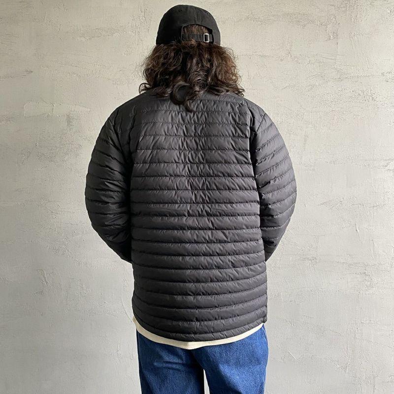 ORCIVAL [オーシバル] インナーダウン クルーネックジャケット [OR-A0086DPL] BLACK&&モデル身長:173cm 着用サイズ:5&&